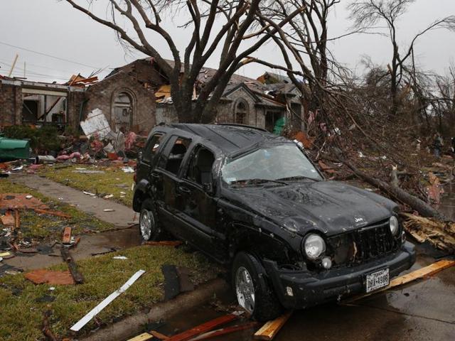 Dallas,Texas,Tornado