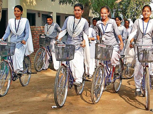 The bicycles will be provided to girl students of Class 11 and 12 who belong to families of priority household under the National Food Security Act.
