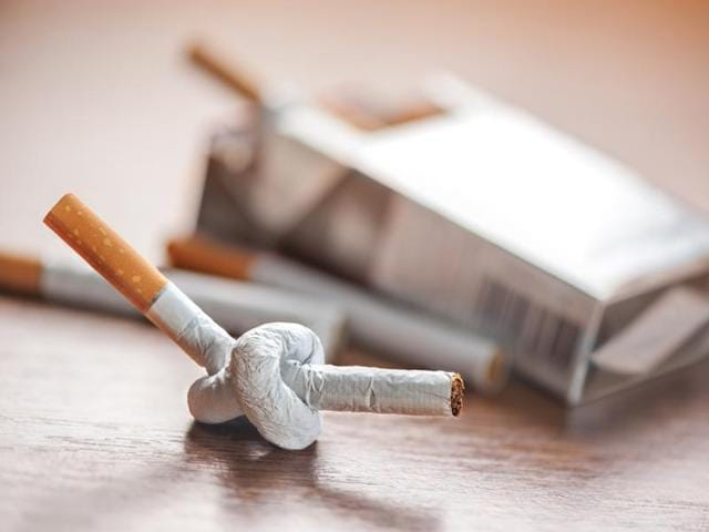 While you are reading this, make a firm decision to go cold turkey and quit smoking.