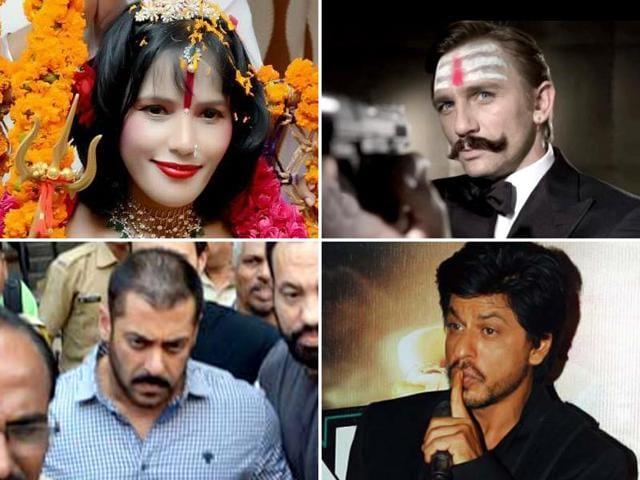 In sheer drama, there are few years which can top 2015. From intolerance to court dramas to censors' snipping scissors, everything was in overdrive this year. Here is a year in review starring Salman, Shah Rukh and Aamir Khan. James Bond also comes into it.