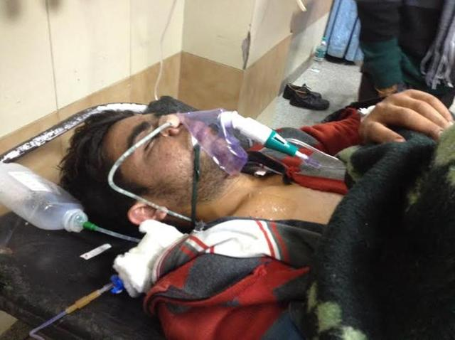 Pawan was among the four victims admitted to the PGIMER on Monday.
