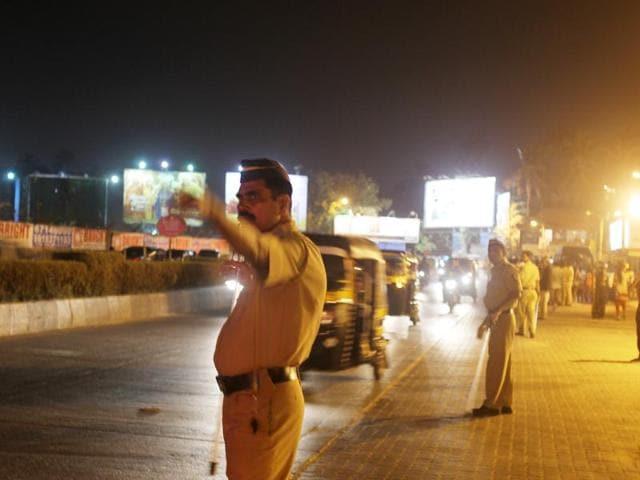 Mumbai,Traffic police,New Year