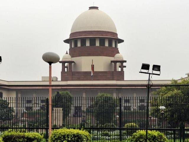 India has the highest number of cases pending before courts – a staggering 30 million – with poor infrastructure and inadequate manpower being the main culprits.(Mohd Zakir/HT Photo)