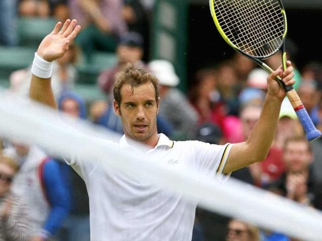 Richard Gasquet pulled out of the Australian Open after aggravating an existing back problem during the IPTL.