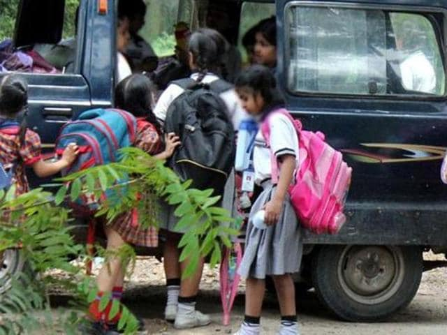 For parents in the Delhi, admissions have always been a difficult ride with guidelines and rules changing frequently.(Shankar Mourya/HT file photo)