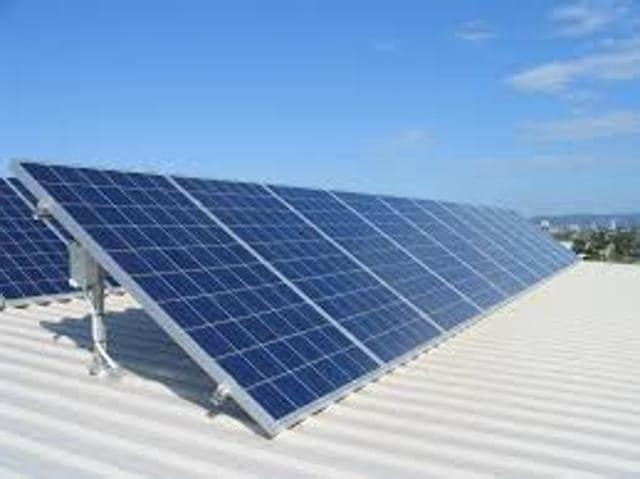 Solar rooftops,Centre,solar energy