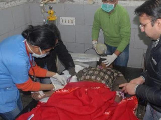 The injured were immediately referred to hospitals in Amritsar after the accident.