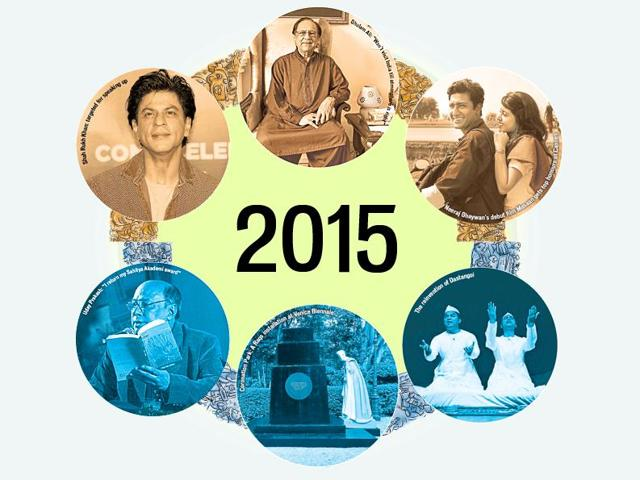 In 2015, the idea of India was fought for on culture's turf. The year was also boasts of individual artistic milestones.