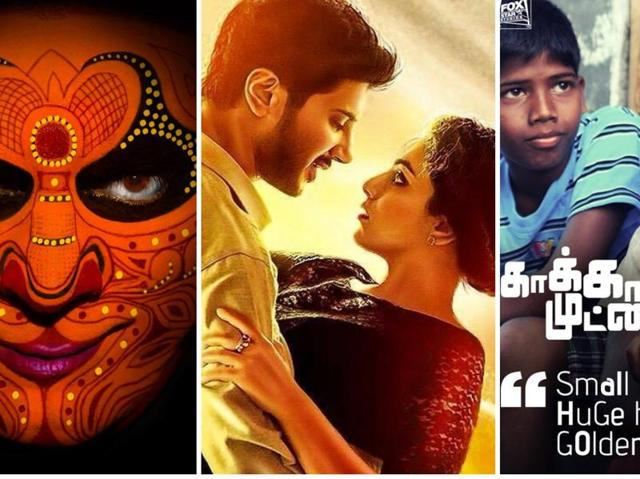 (Left to right) Uttama Villain, OK Kanmani and Kaaka Muttai were among the many films that pushed the frontiers of creative content in Tamil cinema.