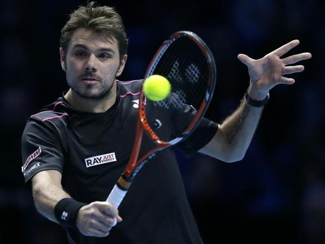 Stan Wawrinka, who will be playing the Chennai Open, has been one of the rare players to challenge Novak Djokovic this season.(AP Photo)