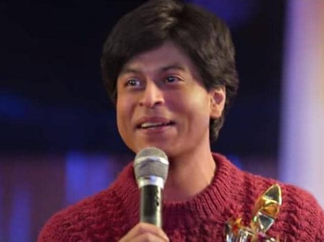 Shah Rukh Khan in Maneesh Sharma's Fan.