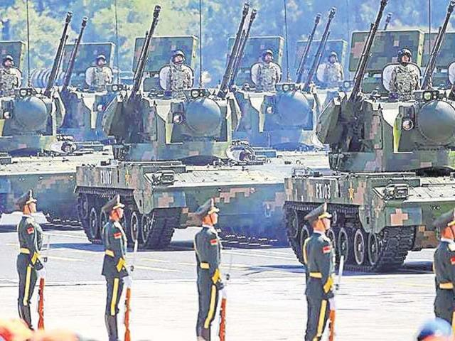 China has been upgrading its military hardware, but integration of complex systems has been a major challenge. (Reuters)
