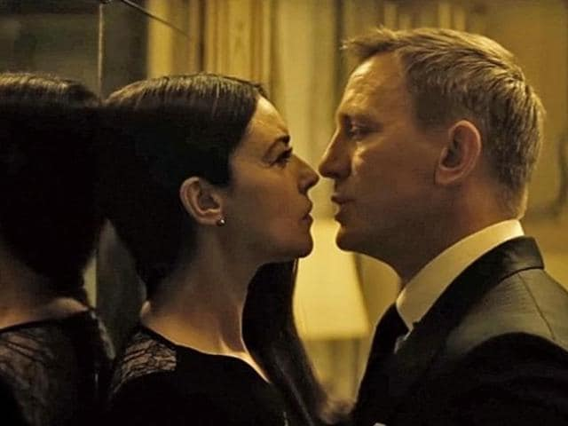 Even the kissing scenes in Bond movie Spectre we snapped into half the original duration.