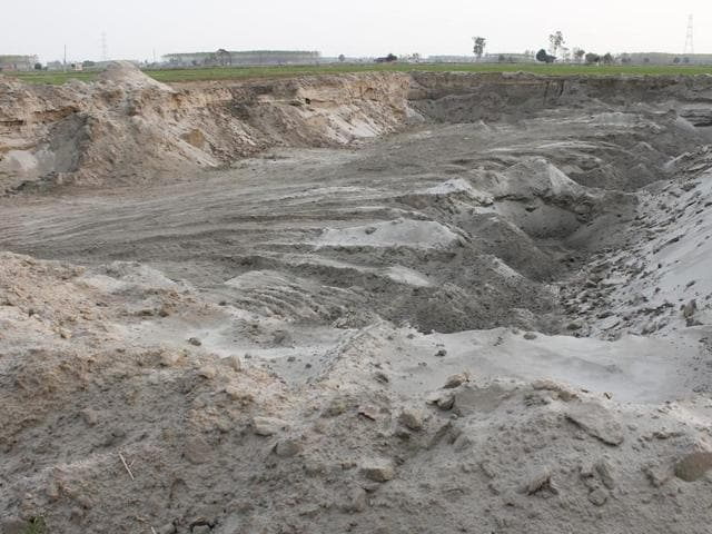 Lakhveer Rana was attacked in 2012 after he blew the lid off illegal mining at Jodhwal village in Ludhiana district.