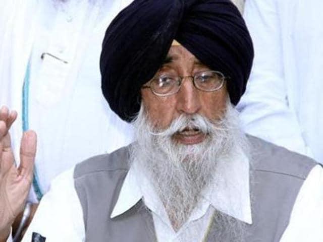 SAD Amritsar  Chief Simranjit Singh Mann.