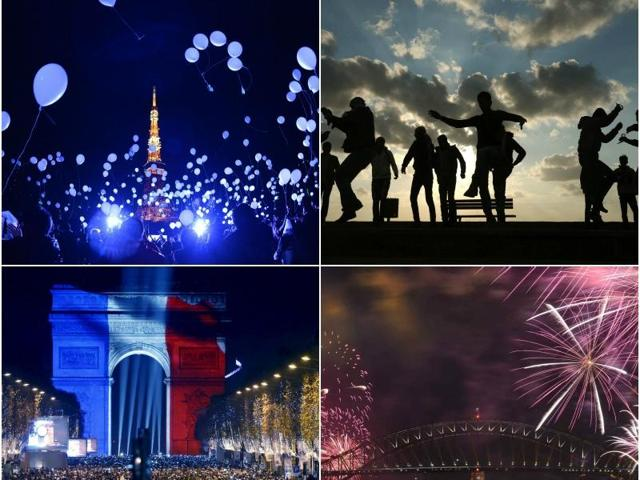 New Year's eve,2016,New Year