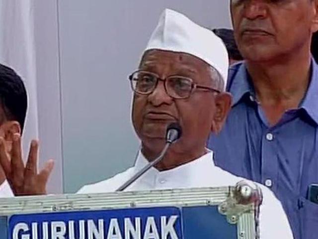 Anna Hazare reminds PM Modi of 'forgotten poll promises'