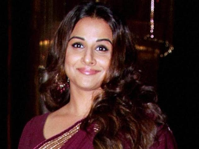 Vidya Balan during a felicitation programme in Mumbai.