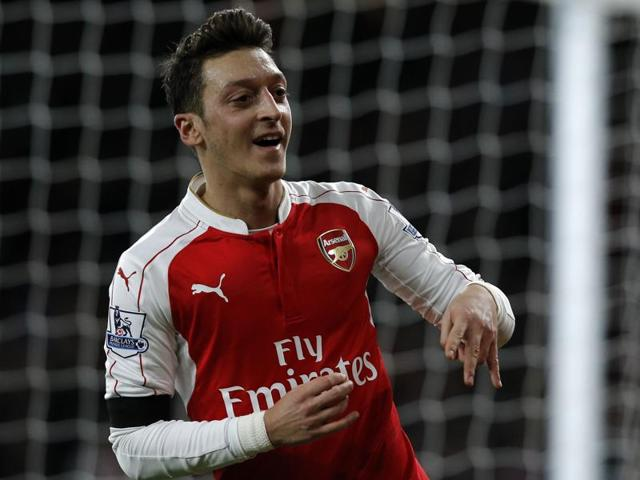EPL,Mesut Ozil,Arsenal vs Newcastle