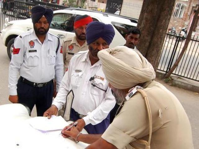 Chandigarh Police,challans,dunken driving