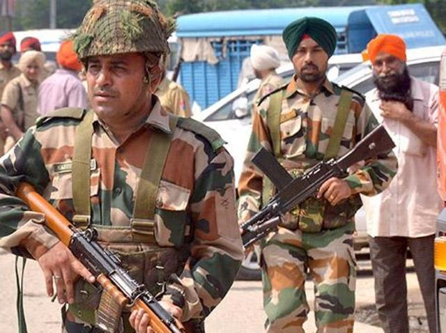 Security beefed up,bathinda air force station,Pathankot Air base