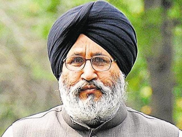 SAD spokesman and education minister Daljit Singh Cheema.