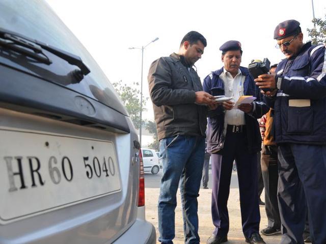 Delhi odd-even scheme