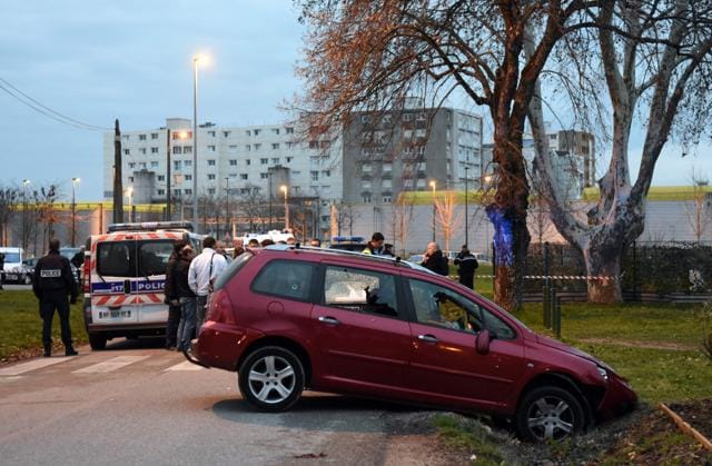 French mosque attack,Car rampage,Alex Perrin