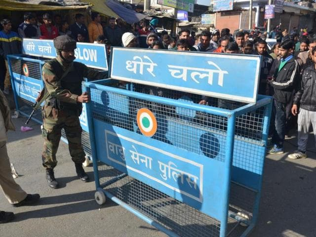 At least four gunmen suspected to be from the Pakistan-based Jaish-e-Mohammed group infiltrated the Pathankot air base at around 3.30am.