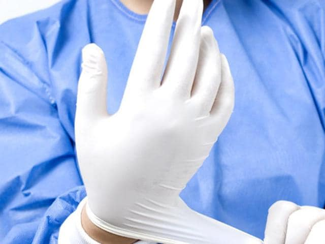 A surgeon reportedly left a cotton swab in a woman's womb during a minor surgery for delivery.