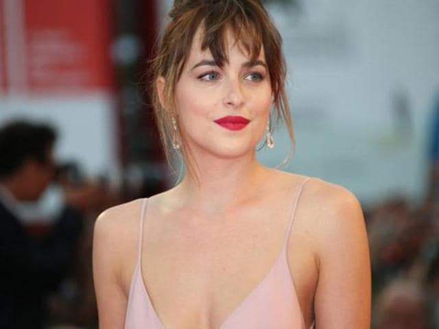 The 26-year-old actor, portrayed Anastasia Steele in the first instalment of the film.