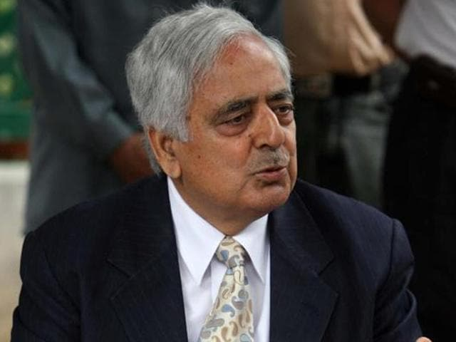 Mufti Mohammed Sayeed.