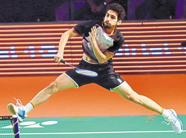 After losing the first game to Lucknow's S Praneeth, R Gurusaidutt came back to win 14-15, 15-10, 15-8 in men's singles.