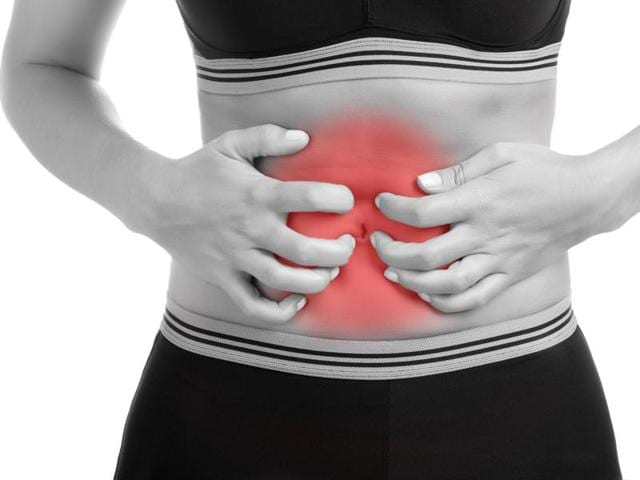 Excess water in the body causes bloating - a result of unhealthy diet.