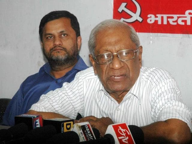 CPI-M veteran AB Bardhan who died in Delhi hospital at the age of 93.