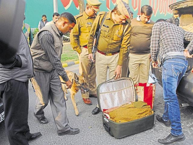 In the wake of the terror attack on the Indian Air Force's base in Pathankot on Saturday, security was tightened across Noida and Ghaziabad.