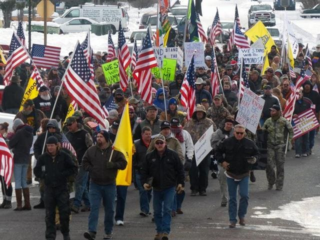 Oregon,Militia,US protests