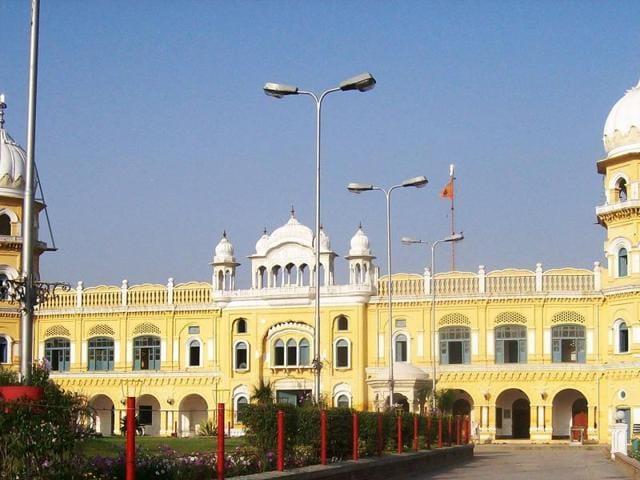 Nankana Sahib, the birthplace of Guru Nanak.