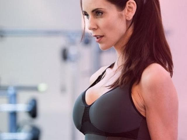 Here is another quirky wearable that pushes you to work harder and guess what, it is a bra
