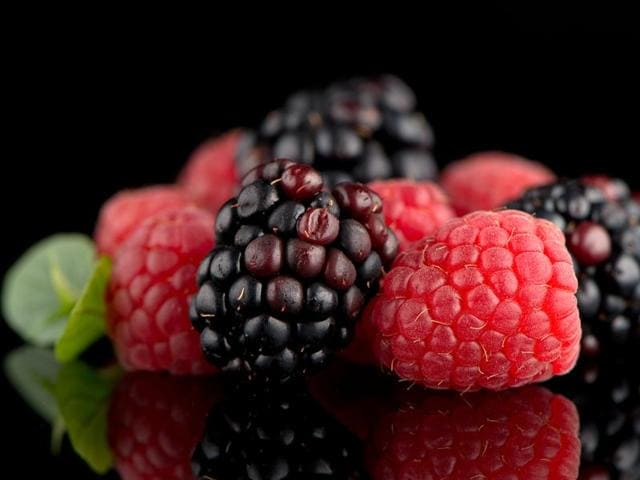 Black raspberries are characterised by a higher content of secondary metabolites, which have been proved beneficial for human health.