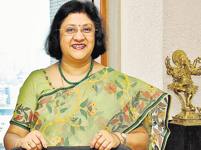 Arundhati Bhattacharya recognises that while some calls may go bad, the SBIcannot stop lending, otherwise the economy won't grow.