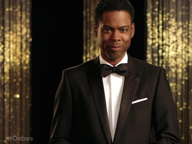 Chris Rock is back as the host of the Oscars.