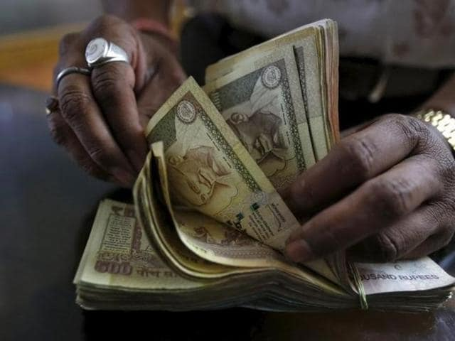 The rupee kept descending, weighed down by global uncertainties and sliding local equities to hit an intra-day low of 66.63, before ending at 66.61.