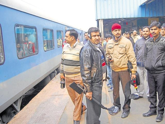 Teams from the Government Railway Police, the Railway Protection Force and the city police carried out the checking on Sunday.
