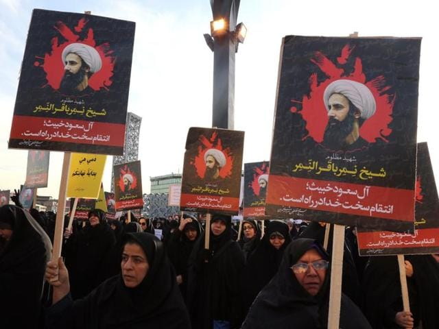 The Sudanese government cut off diplomatic ties with Iran on Monday after Saudi Arabia cut links with the Islamic republic on Sunday, amid escalating tensions triggered by the execution of a Shia cleric Nimr al-Nimr in the Sunni-ruled kingdom at the weekend.