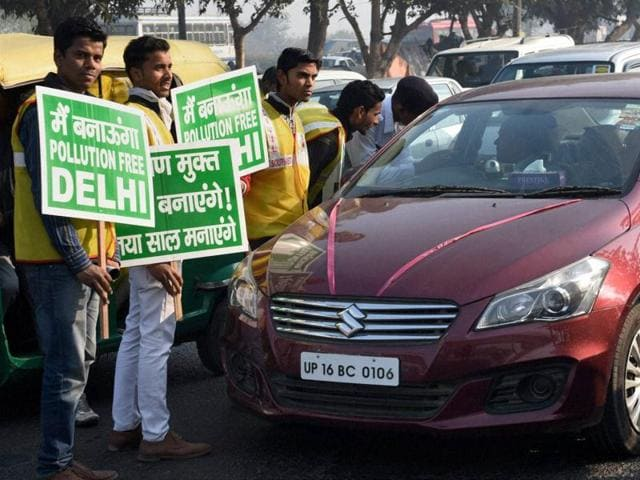 Delhi odd even,carpooling,cab shares