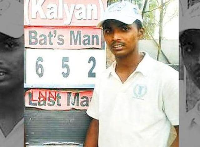 Dhanawade brought up the knock during an under-16 inter-school match at Union Cricket Academy ground in Kalyan.