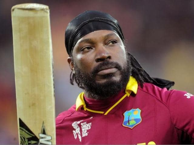 """Chris Gayle asked out Channel 10 presenter Mel McLaughlin for a drink, adding """"don't blush, baby"""" during an awkward pause in the interview."""