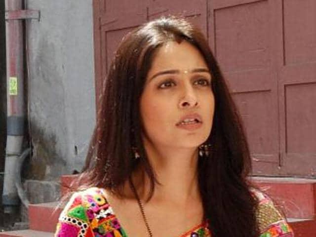 Dipika Kakar in a still from Sasural Simar Ka.