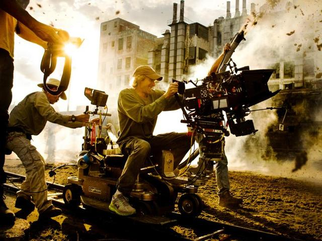 The coolest image of Michael Bay ever to exist.